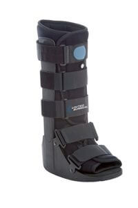 Boot for fractured foot or ankle